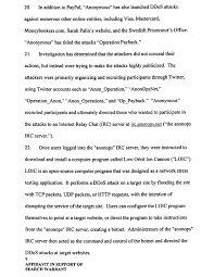 anonymous attack on target black friday affidavit details fbi