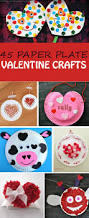 45 paper plate valentine crafts for kids non toy gifts