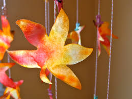 crafts with leaves images reverse search