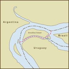Map Of Uruguay Betweenity