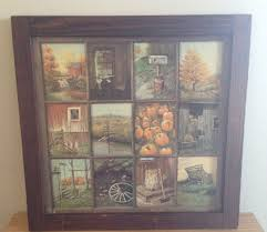 home interior framed vintage home interior window pane picture i think everyone and