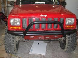 jeep xj bumper tube bumpers rock sliders jeep cherokee forum