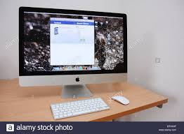 Apple Desk Computers by Apple Imac Stock Photos U0026 Apple Imac Stock Images Alamy