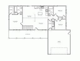 split ranch floor plans house plan bedroom split level dashing simple small floor plans