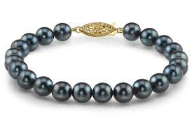 tiffany bracelet pearl images 7 0 7 5mm japanese akoya black pearl bracelet japanese akoya jpg