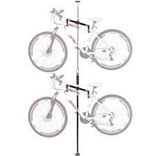 bikes automatic bike rack kickstarter freestanding vertical bike