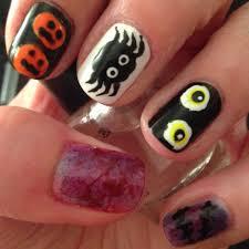 5 easy halloween nail designs beginnersnailart u0027s blog