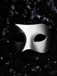 black and white masquerade mask s venetian black white designer half mask