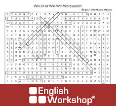 win all or win win word search answers english workshop mexico