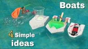 4 amazing ideas for or simple ways to make a boats