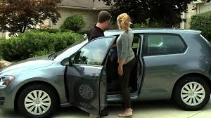 2015 volkswagen golf 3 door easy entry seats youtube