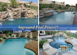 inground pool prices splash pools and construction