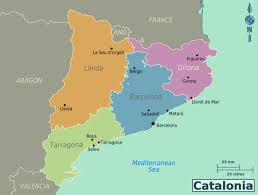 Girona Spain Map by Large Catalonia Maps For Free Download And Print High Resolution