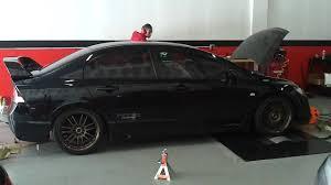 Is The Honda Civic Si Turbo 2007 Honda Civic Si Turbo Dyno Pull 1 Youtube