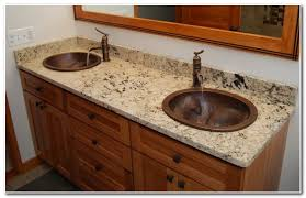 granite vanity tops with sink sink and faucet home decorating