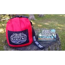 hammock set red black hamacka