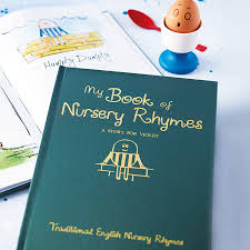 personalised gift boxed book of nursery rhymes by letteroom