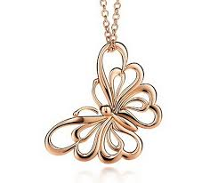 rose gold necklace womens images Tiffany co rose gold necklaces and pendants for women jpg
