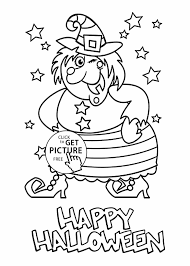 halloween free movies witch coloring page on broom with black cat coloring page