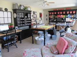 Craft Rooms Pinterest by Best Colorful Home Office Ideas With Shelves And Craft Room Cubtab
