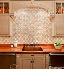 kitchen design ideas light champaign beveled subway tile kitchen
