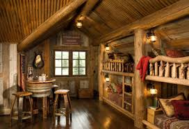 log home interiors images 21 rustic log cabin interior design ideas style motivation