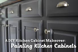 painting kitchen cabinet doors before and after a diy kitchen cabinet makeover painting kitchen cabinets