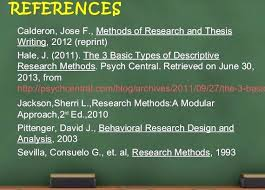 research design thesis example methods of research and thesis writing by jose calderon