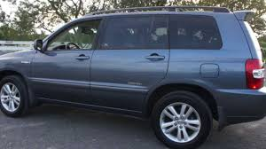 toyota highlander sales 2006 toyota highlander limited hybrid for sale leather moon heated