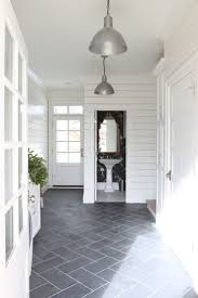 350 best hallway entry staircase ideas images on pinterest slate herringbone floors and shiplap walls studio mcgee