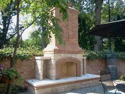 fireplace masonry outdoor fireplaces stone brick albaugh