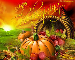 happy thanksgiving to friends family and loved ones near and