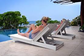 Polyethylene Patio Furniture by Contemporary Sun Lounger High Density Polyethylene Hdpe
