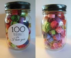 Diy Arts And Crafts Pinterest 100 Reasons Why I Love You Jar Crafts U0026 Diy Pinterest Gift