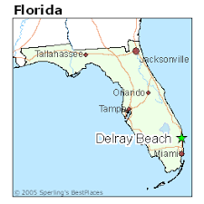 map of delray delray florida cost of living