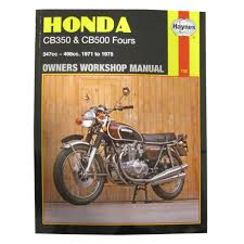 manual haynes for 1974 honda cb 500 k3 u0027four u0027 ebay