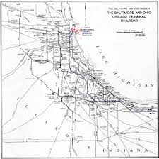 Union Station Chicago Map by N Scale