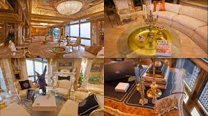 inside donald trump s opulent manhattan penthouse located at the