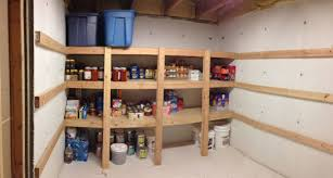 basement storage shelves step by step building shelves in a basement most popular home design