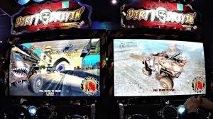 monster truck games racing dirty drivin u0027 off road racing monster truck arcade game kids