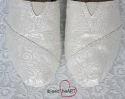 Wedding Shoes Toms Wedding Toms Etsy