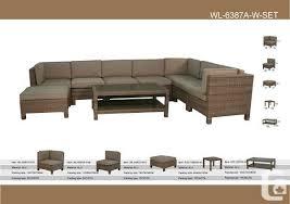 Patio Furniture Mississauga by Patio Furniture Deals Toronto Rattan Furniture Set Pcs Sofa