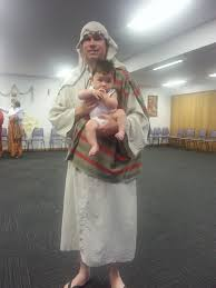 Jesus Costume Jacob Plays Baby Jesus Reality Hits