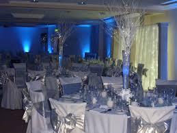 blue table decorations design decorating ideas