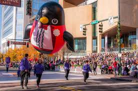 uptown closures for the thanksgiving parade began tuesday