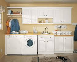 Kitchen And Laundry Design Kitchen Laundry Combo Designs Simple White Wooden Counter Polished