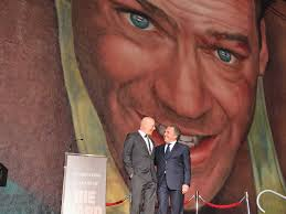 Mural Software by Fox Revealed A 35 Foot Tall Mural Of Bruce Willis In Honor Of