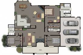Cool House Plan by 3 Bedroom Ranch House Plans 915x615 Cool House Plans