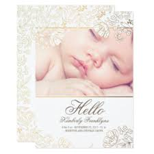 newborn invitations announcements zazzle