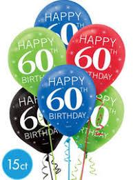 celebrate 60 birthday 60th birthday balloons party city